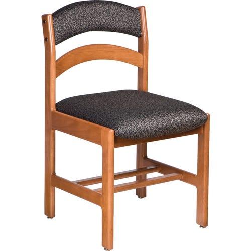 Leg Base, Uphostered Seat & Back