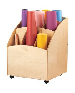 Jonti-Craft® Mobile Paper Roll Bin