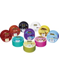Scotch® Colorful Solid-Color Duct Tape
