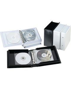 Demco® Heavy-duty CD Ring Binder Albums without Pages