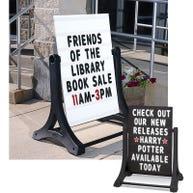 Swinger® Letterboard Signs