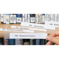 Paper Inserts for Shelf Label Holders