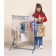 Demco® Big Book Hanging Bag Floor Rack