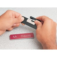 Replacement magnet for DEMCO® Custom Engraved Magnetic Name Badges