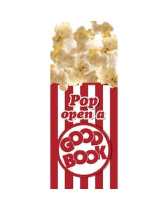 Demco® Upstart® Pop Open a Good Book Popcorn Scratch-and-Sniff Bookmarks