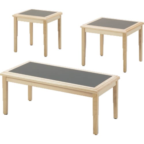 Coffee Table, End Table, and Corner Table.  Each Piece Sold Separately