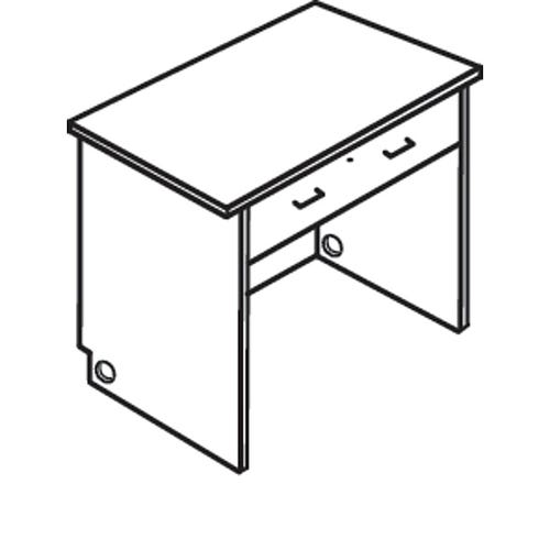 with Single Drawer