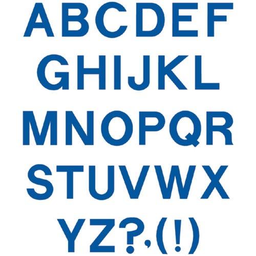 Block Capital Letters