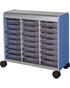 24 Drawer Shown with Open Front