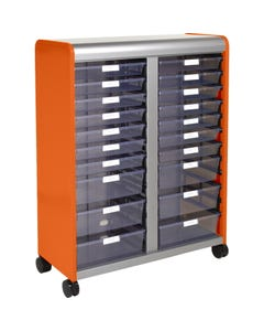 20 Drawer Shown with Open Front