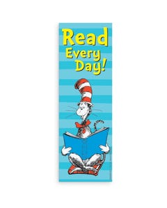 Demco® Upstart® Dr. Seuss™ Cat in the Hat Read Every Day Bookmarks