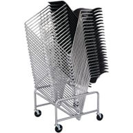 Mobile Chair Cart for Safco® Veer™ Stack Chairs