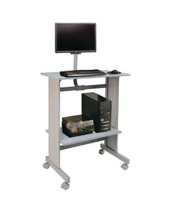 Stand-up Workstation with LCD Mount