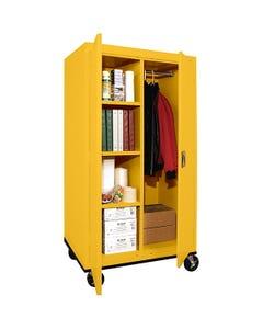 Sandusky Lee® Mobile Steel Wardrobe/Storage Cabinets
