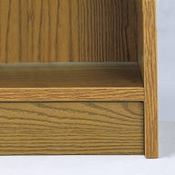 Toe Board for Ironwood Glacier® Laminate Library Shelving