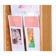 Pamphlet Dividers for Wooden MalletMagazine Racks