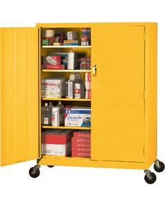 Sandusky Lee® Mobile Steel Extra-wide Storage Cabinets
