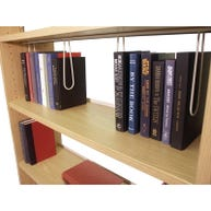 Wire Book Supports for Paragon Infinity™ Laminate Library Shelving