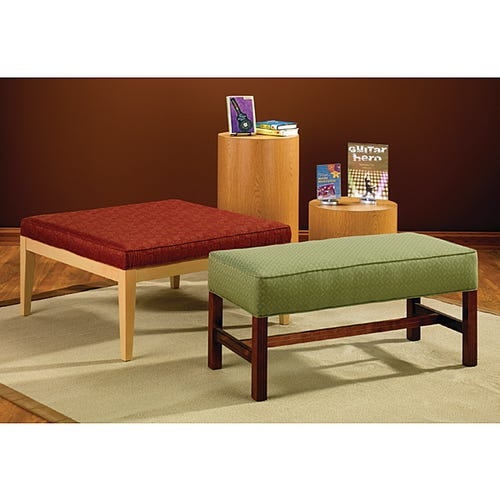 Rectangle and Square Bench