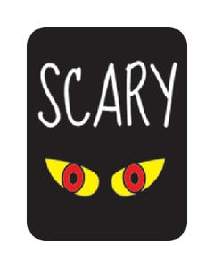 Demco® Genre Subject Classification Labels - Scary