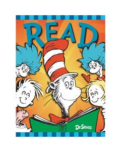Demco® Upstart® Dr. Seuss™ Cat in the Hat & Friends Poster