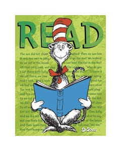 Demco® Upstart® Dr. Seuss™ Cat in the Hat READ Poster