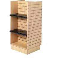 Shelves for Slatwall H-frame Island Displays