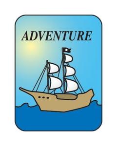 Demco® Genre Subject Classification  Labels - Adventure
