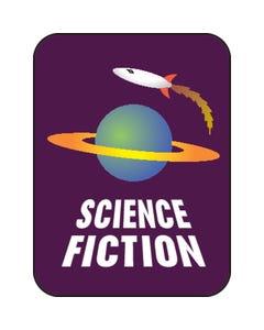 Demco® Genre Subject Classification Labels - Science Fiction