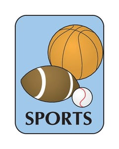 Demco® Genre Subject Classification Labels - Sports