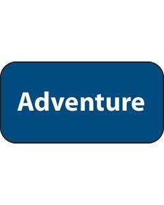 Demco® Adult Genre Labels - Adventure