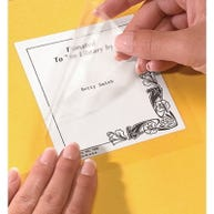 Demco® Acid-Free Bookplate Protector