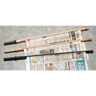 Demco® Wood Rod Newspaper Sticks