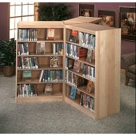 1 Filler Unit Shown With 3 Double-faced LibraCraft Shelving Units (Sold Separately)