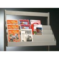 Magazine/Literature Display Shelves for Estey® Shelving