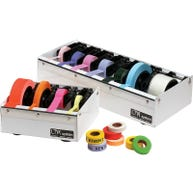 Multiple Roll Dispensers for Labels or Tape