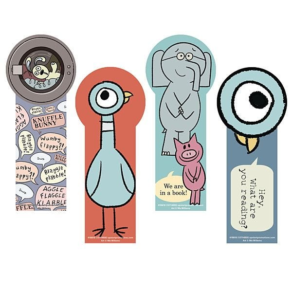 Mo Willems Bookmarks