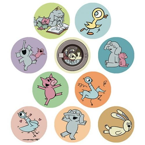Mo Willems Stickers