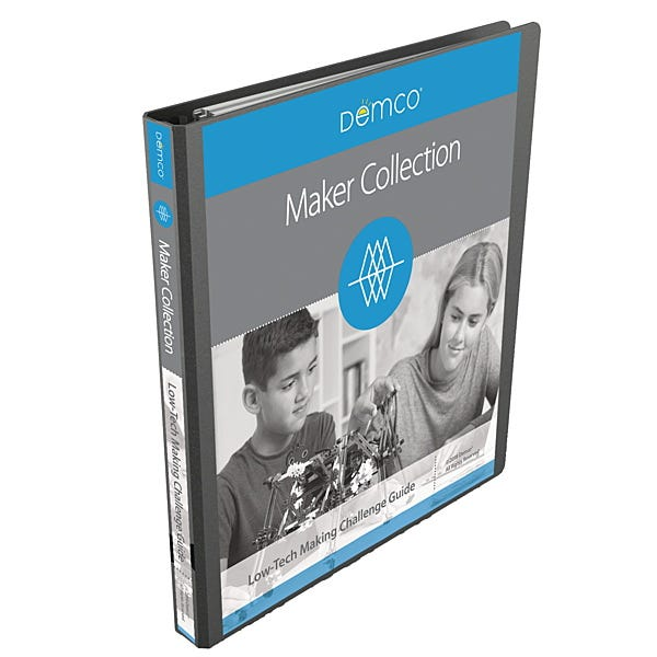 Demco® Low-tech Making Collection Challenge Guide Binder