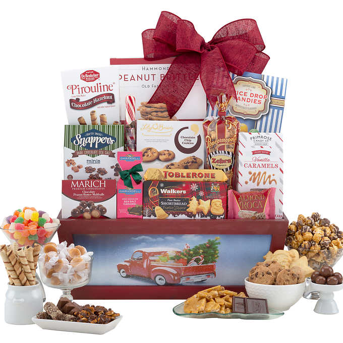 Day 4 - Merry & Bright Holiday Basket