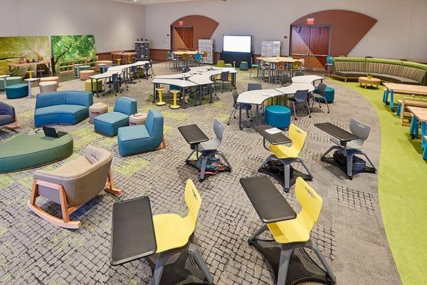 Award-Winning EDspaces Classroom Using Biophilic Design