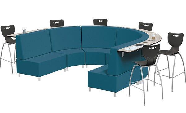 MooreCo™ Orbit Mediaspace Soft Seating