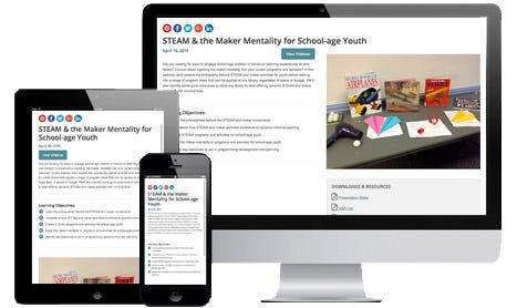 Blogs, Webinars & Ideas!