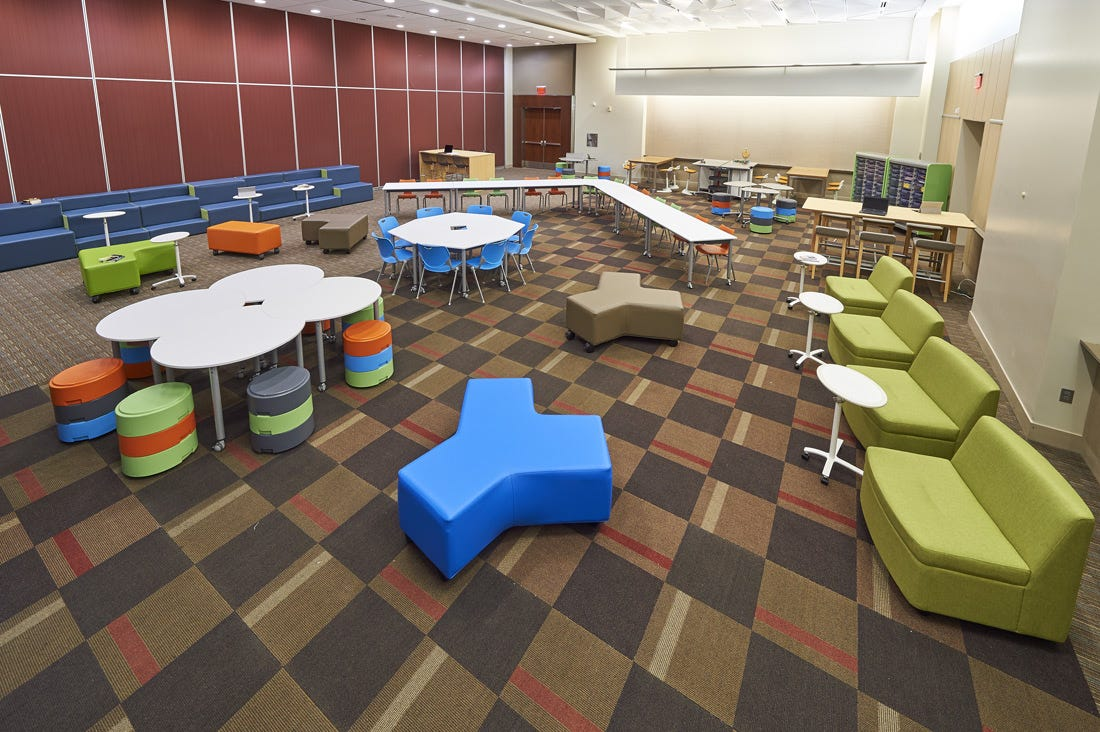 Learning Commons: Entire Room