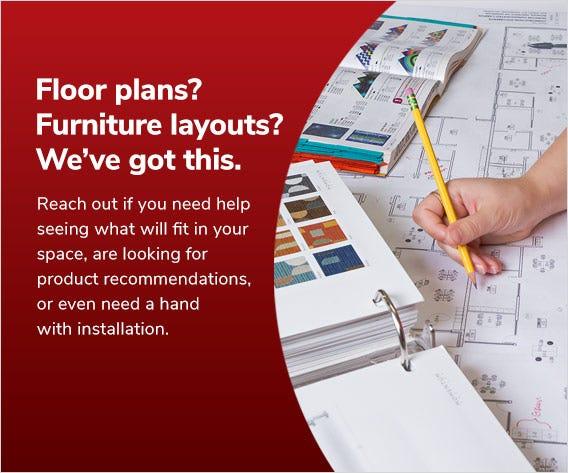 Floor plans? Furniture layouts? We've got this.