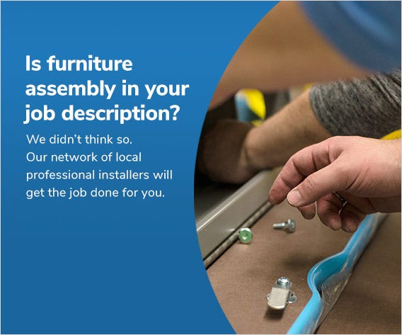 Is furniture assembly in your job description?