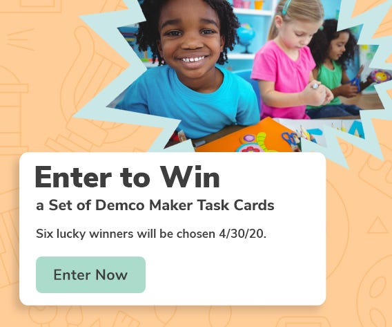 Demco Maker Task Cards