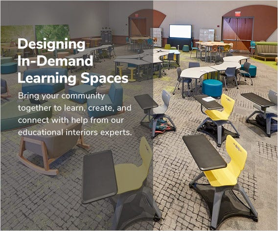 Designing In-Demand Learning Spaces