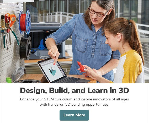 Design, Build, and Learn in 3D