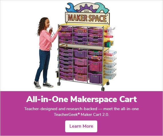All-in-One Makerspace Cart